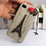 Eiffel Tower &amp; bird Iphone Case iPhone 4 Case