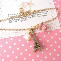 Amour Pour Eiffel Bracelet - 14K Go.. on Luulla