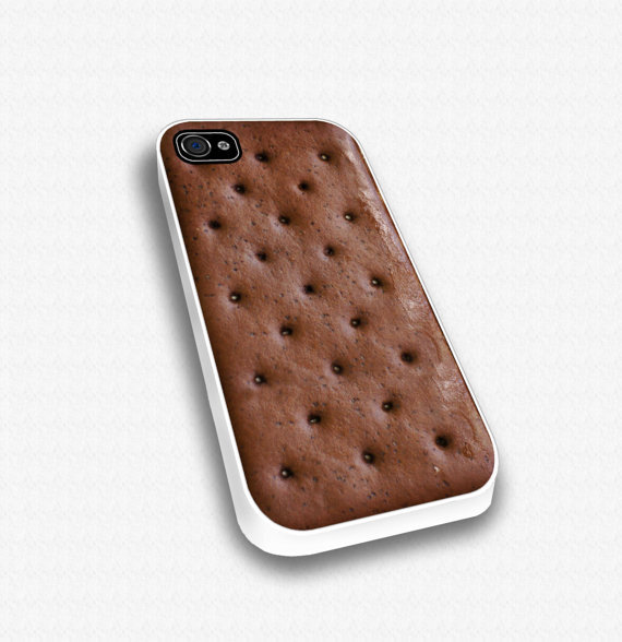 Ice Cream Sandwich -  iPhone case for iphone 4 and 4S