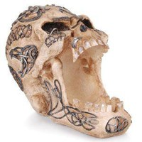 - Open Celtic Skull Polyresin Ashtray - each - Other