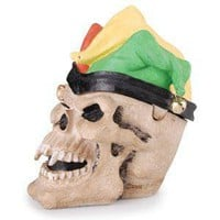 - Joker Skull Polyresin Ashtray - each - Other