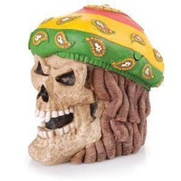 - Rasta Skull Polyresin Ashtray - each - Other