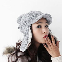 Azaleas Exclusive: Beanie Hat with Ear Flaps &lt;img src=&quot;http://bit.ly/more_colors.jpg&quot;&gt; - Shop Azaleas NYC in the East Village