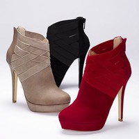Elastic-trim Bootie - Colin Stuart - Victoria&#x27;s Secret