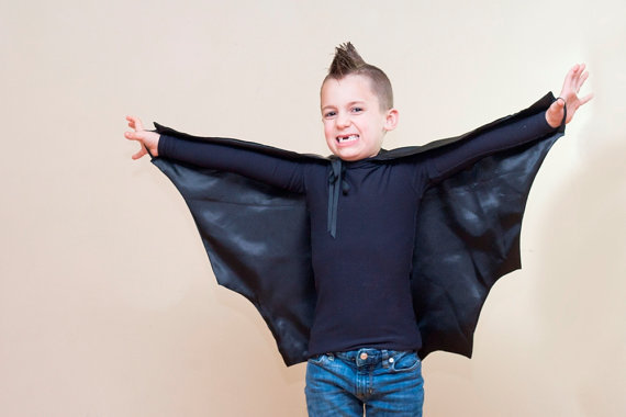 Handmade Kid's Bat Costume