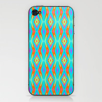 Fire & Ice iPhone & iPod Skin by Lisa Argyropoulos | Society6