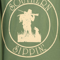 Southern Sippin': Deer Hunter Shirt: Mallard