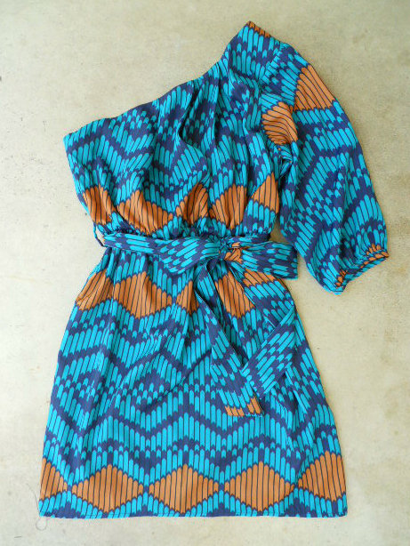Indigo Artisan Ikat Dress [3048] - $36.00 : Vintage Inspired Clothing &amp; Affordable Summer Dresses, deloom | Modern. Vintage. Crafted.