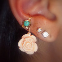 Ear Cuff - Flower