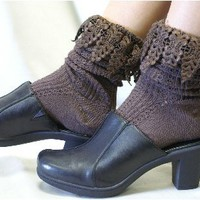 SLXR1  lace cuff sock