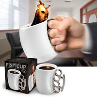 FISTICUP™ - A Knockout Cup of Coffee!  - Whimsical & Unique Gift Ideas for the Coolest Gift Givers