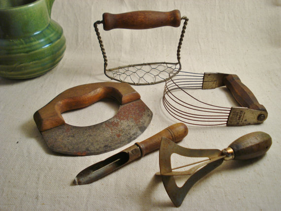 Collection Of Vintage Kitchen Tools From Alegriacollection On