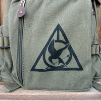 The Ultimate... Harry Potter Deathly Hallows... Two Logo Backpack/Rucksack