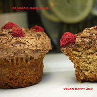 Vegan Gluten Free Vanilla baby cakes, love, animal free cruelty,no eggs,no dairy.