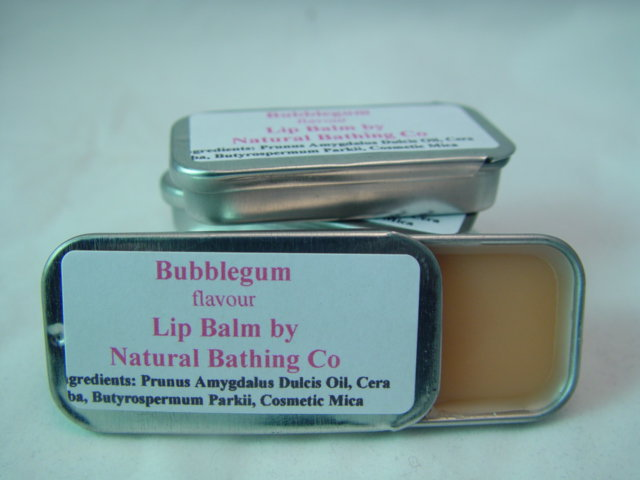 Bubblegum Lip Balm Tin Flavoured Na.. on Luulla