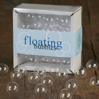 Floating Clear Bubbles