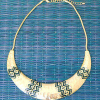 Arizona Tribal Cuff Necklace -  $25.00 | Daily Chic Accessories | International Shipping