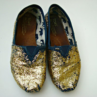 Glitter TOMS Custom Made Toms Shoes Made To Order Vans Keds TOMS Canvas Shoes