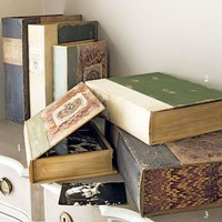 Vintage Style Box Files