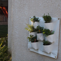 Vertical Herb Garden by VerticalGarden on Etsy