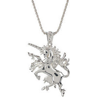 Han Cholo - Last Unicorn Pendant Necklace, Silver