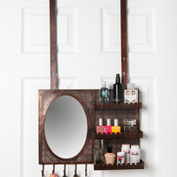 Over-the-Door Vanity Station