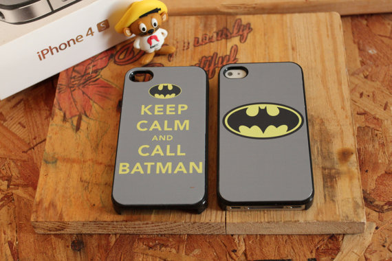 (2) Keep calm Batman dark knight  Apple iPhone Case