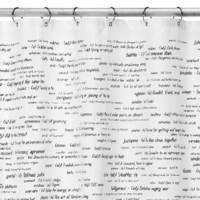 Amazon.com: Top 500 SAT Words Shower Curtain: Home &amp; Garden