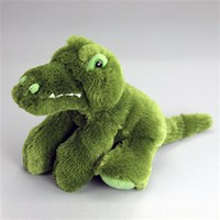 Gomez Jr The 8 Inch Stuffed Snuggle Up Alligator at Stuffed Safari