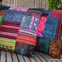 Patchwork Pillow Cushion Cover In C.. on Luulla