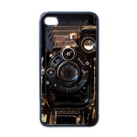Apple iPhone Case - Vintage Camera Photos Retro - iPhone 4 Case Cover