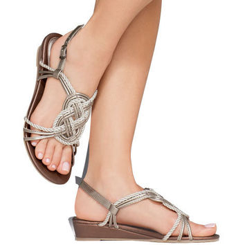 Avon: Knotted Rope Sandal