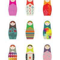 The Cools / Matryoshkas by Malobi