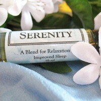 Sleep Meditation Relaxation Organic oil blend Serenity 10ml bottle