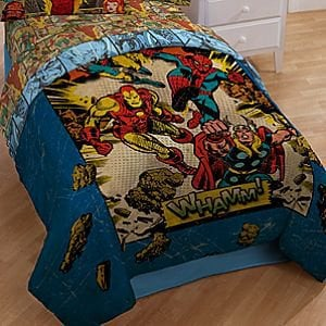 Whamm! Marvel Comics Comforter | Bedding | Disney Store