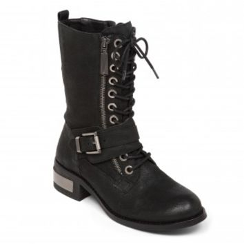 Vince Camuto Wila Motorcycle Boot in Black