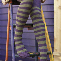 Socks By Sock Dreams   Socks  Super Stripes Knee Highs