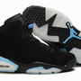 nike jordan vi shoes white blue and black