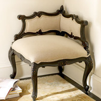 Massoud - &quot;Tenley&quot; Corner Chair - Horchow