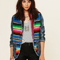 Free People Mexican Blanket Jacket