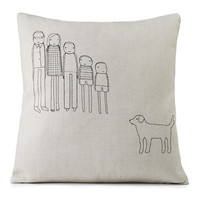 PERSONALIZED FAMILY PILLOW