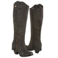 Women&#x27;s Fergie  Ledger Too Graphite Leather Shoes.com