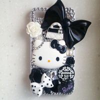 Black Bow Hello Kitty For 4G 4S Iph.. on Luulla