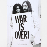 John Lennon War Is Over Poster