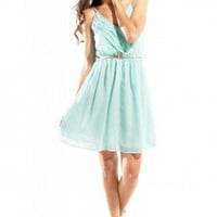 JARLO Marion Belted Dress