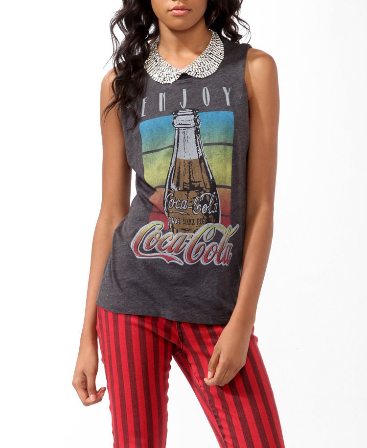 Sleeveless Enjoy Coca-Cola™ Tee