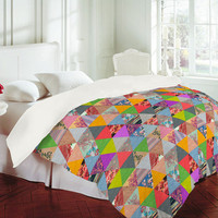 Bianca Green's Lost In Pyramid Duvet Cover | DENY Designs