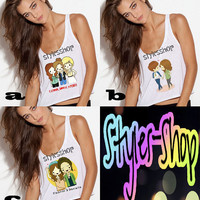 One Direction Girlfriend Tanks