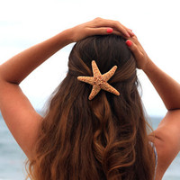 Large Sugar Starfish Hair Barrette
