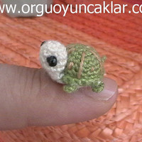 Amigurumi 0.4 inc Miniature Turtle Pattern